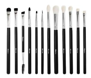 Kit de Pinceis para Olhos Morphe Brushes - 12 peças