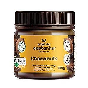 Creme de Castanha com Cacau Choconuts 120g