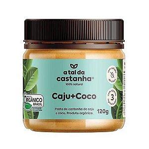 Creme de Castanha de Caju com Coco 120g