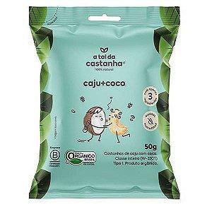 Snack Castanha de Caju e Coco 50g