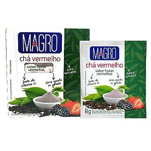 Chá Vermelho sabor Frutas Vermelhas Magro Caixa 15 un