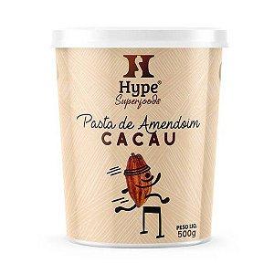 Pasta de Amendoim com Cacau Hype 500g