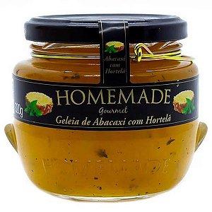 Geleia Gourmet Abacaxi com Hortelã Homemade 320g