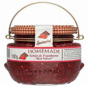 Geleia de Framboesa Red Velvet Homemade 180g