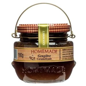 Geleia de Gengibre Caramelizada Homemade 180g