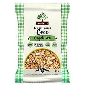 Granola de Coco Orgânica Mãe Terra 200g
