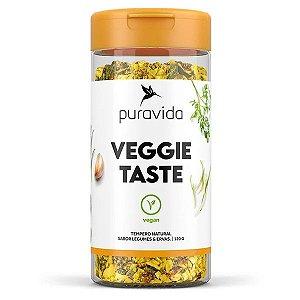 Tempero Veggie Taste Pura Vida 120g