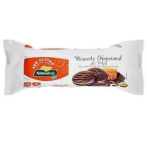 Biscoito Funcional de Mel e Chocolate Natural Life 140g