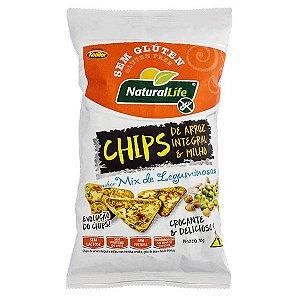 Chips de Arroz e Milho sabor Legumes 70g