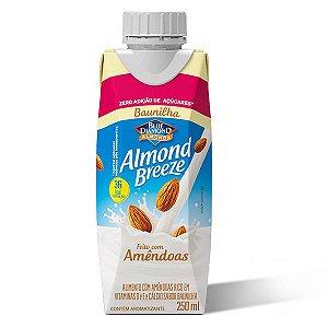 Leite Amêndoas com Baunilha Zero Almond Breeze 250ml
