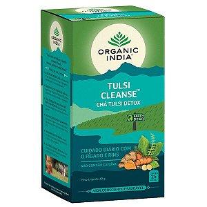 Chá Tulsi Clenase Detox Sachês Organic India
