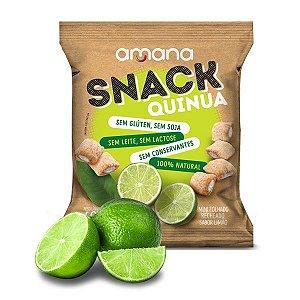 Snack de Quinoa com Limão Amana 40g
