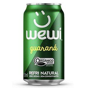 Refrigerante Orgânico Guaraná Wewi Lata 350ml
