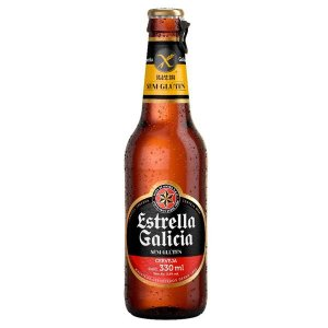 Cerveja Estrella Galicia Sem Glúten 330ml