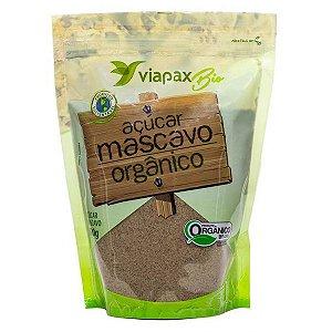 Açúcar Mascavo Orgânico Viapax 500g