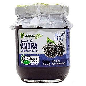 Geleia de Amora Orgânica Zero Viapax 200g