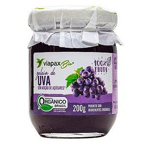 Geleia de Uva Orgânica Zero Viapax 200g