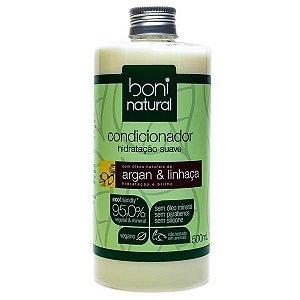 Condicionador Argan e Linhaça Boni Natural 500ml