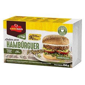 Mix Preparo de Hambúrguer Vegano Frango Caldo Bom 250g