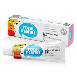 Gel Dental Vegano Baby Kids Tutti Frutti 50g