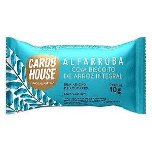 Biscoito de Arroz com Cobertura de Alfarroba Carob House 10g