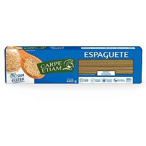 Massa Espaguete de Arroz Integral Carpe Etiam 400g