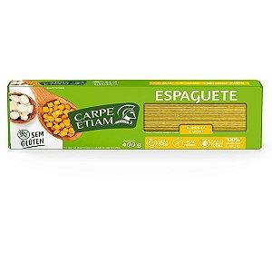 Massa Espaguete de Mandioca e Milho Carpe Etiam 400g
