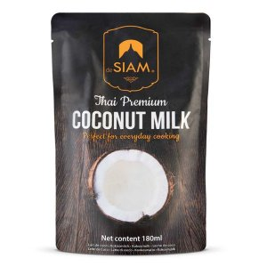 Leite de Coco Premium de Siam 180ml