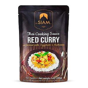 Molho Red Curry de Siam 200g