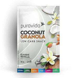Granola de Coco com Vanilla sachê Pura Vida 30g