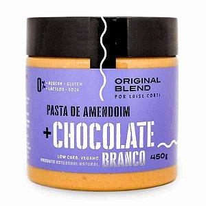 Pasta de Amendoim Chocolate Branco Original Blend 450g