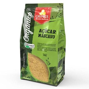 Açúcar Mascavo Orgânico Grings 500g