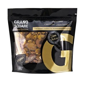 Granola Vegana Gourmet Grano Square 200g