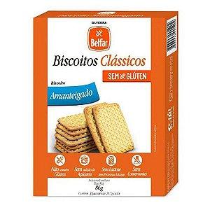 Biscoito Amanteigado Sem Glúten Belfar 86g