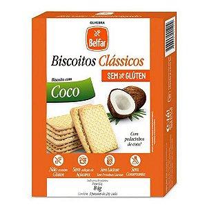 Biscoito com Coco Sem Glúten Belfar 84g