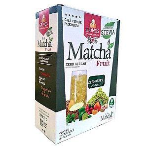Matchá Chá Verde sabor Cranberry Grings cx 12 un