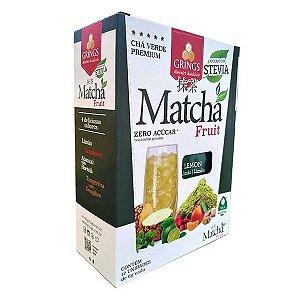 Matchá Chá Verde sabor Limão Grings cx 12 un