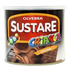Sustare Criança sabor Chocolate Olvebra 380g