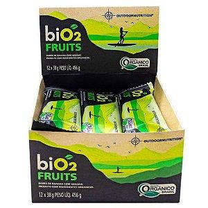 Barra Fruits Banana e Abacaxi Bio2 Caixa 12 un