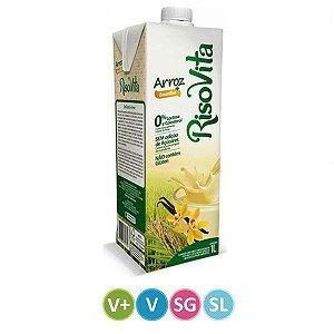 Leite de Arroz + Baunilha Sem Lactose 1 litro