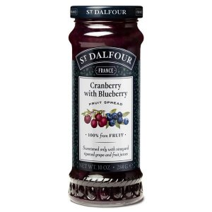 Geleia Cranberry with Blueberry St Dalfour 284g
