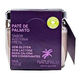 Patê de Palmito com Azeitona Preta Natupalm 100g