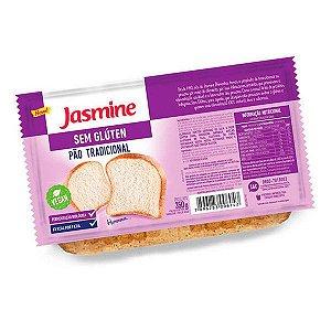 Pão Fatiado Tradicional Sem Glúten Jasmine 350g