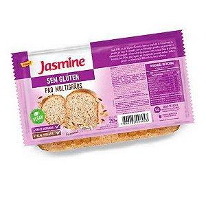 Pão Multigrãos Fatiado Sem Glúten Jasmine