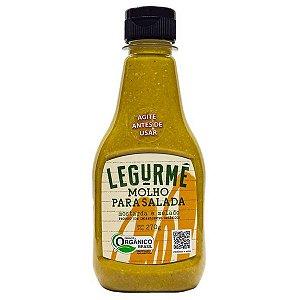 Molho para Salada Mostarda e Melado Orgânico Legurmê 270g