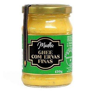 Manteiga Ghee com Ervas Finas Madhu 150g