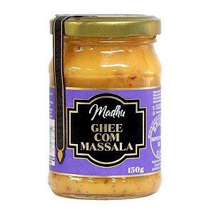 Manteiga Ghee com Massala Madhu 150g