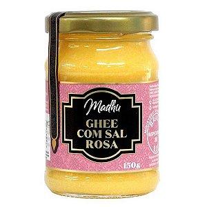 Manteiga Ghee com Sal Rosa Madhu 150g