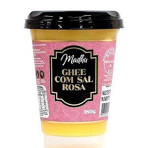Manteiga Ghee com Sal Rosa Madhu 180g