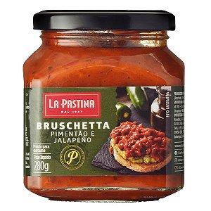 Bruschetta de Pimentão e jalapeño La Pastina 280g